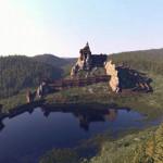 Тустань. Средневековая крепость на скалах