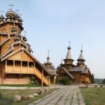 Святогорск. Деревянный скит