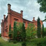 Мала Ростівка. Палац та церква