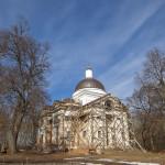 Радьковка. Руины Вознесенской церкви