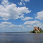 Затоплена церква в с.Циблі