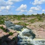Токівське. Каньйон та водоспади на річці Кам'янка.