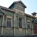Сновськ – клуб залізничників – дерев'яний шедевр.