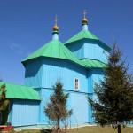 Село Введенка. Введенська церква –одна з найстаріших дерев'яних церков Слобожанщини.