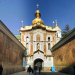 Києво-Печерська Лавра. Троїцька надбрамна церква