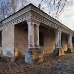 Куна. Залишки маєтку Ярошинських та костьол