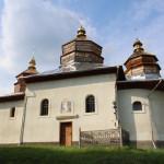 Новий Кропивник - муровано-дерев'яна церква