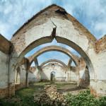 Мануйлівка. Болгарське село із кістяком церкви.