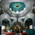 Феневичі. Церква неукраїнського святого.