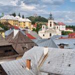 Словаччина. Банська Штявниця Banská Štiavnica.