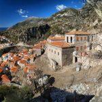 Албанія. Дермі Dhermi - найгарніше село країни