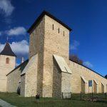 Румыния. Драгомирна. Румынско-молдавско-украинский монастырь