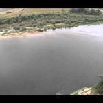 Міжрічинський парк (РЛП) із повітря. Десна