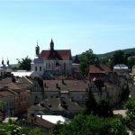 Бережани. Частина 7: Бернардинський монастир і панорами міста
