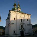 Киев. Храм Феодосия Печерского и монастырь