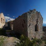 Албания. Химара Himarë. Заброшенный город-крепость