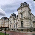 Палац Потоцьких. Інститут геології, палац шлюбів та музей під французьким дахом.
