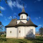 Румыния. Патрауць. Старейшая расписная церковь