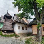 Словаччина. Влколинець Vlkolínec. Вовче село із ЮНЕСКО
