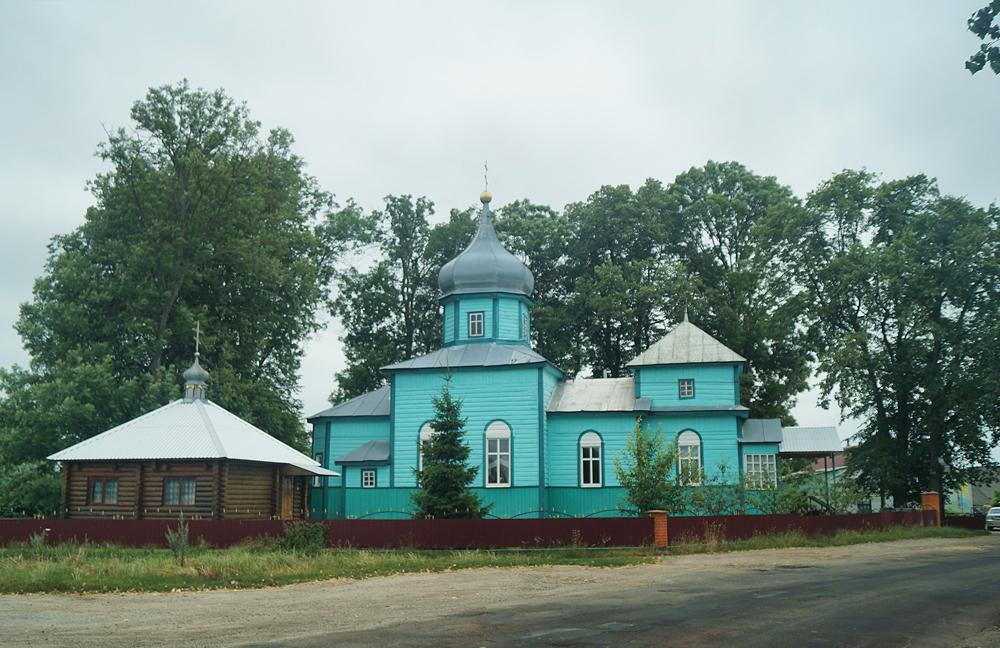 Краснобірка. Церква