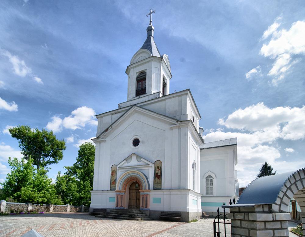 Тригір'я. Спасо-Преображенський монастир