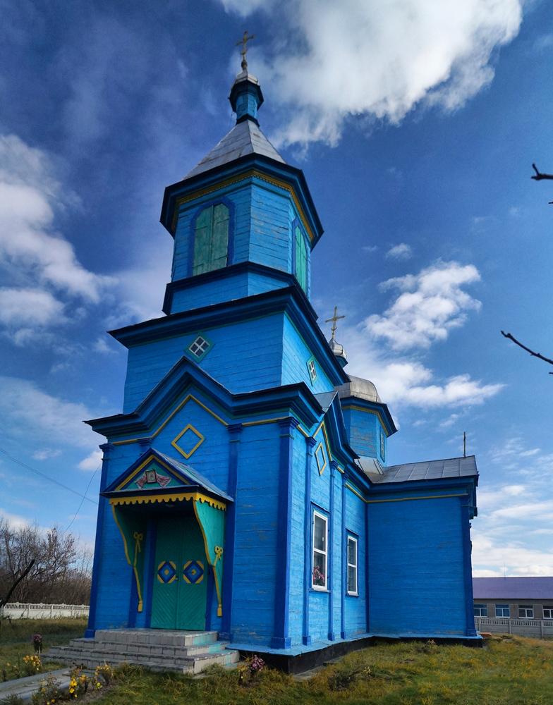 Зороків. Церква святого Василя