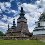 Польща. Овчари Owczary. Лемківська церква з ЮНЕСКО