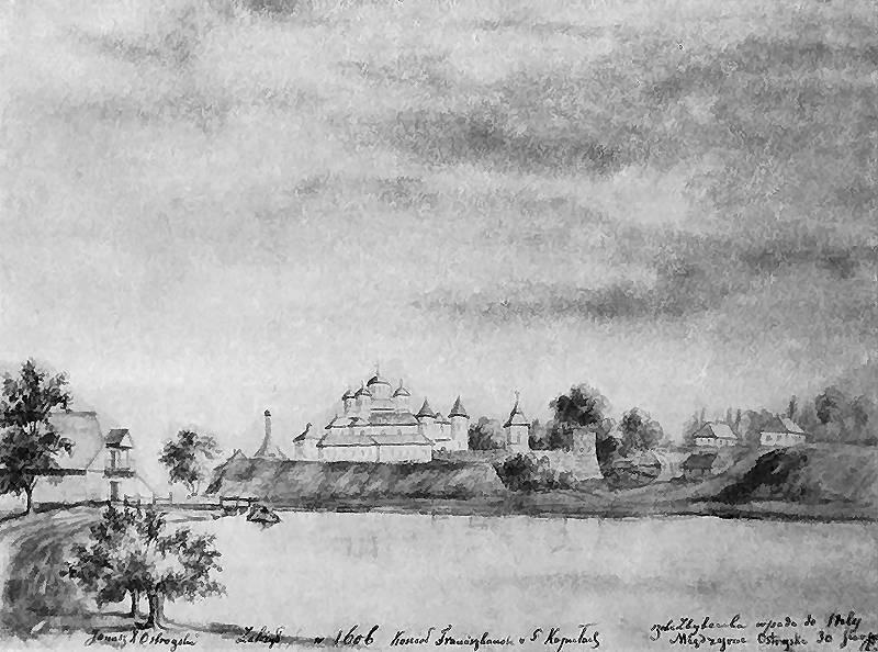 Межиріцький монастир. Наполеон Орда