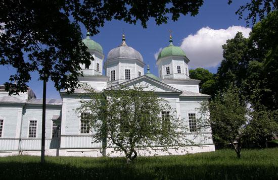 Атюша. Николаевская церковь