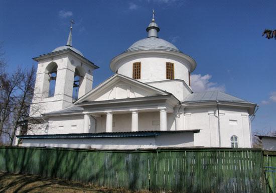 Безугловка. Михайловская церковь