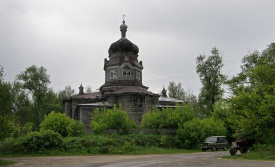 Блистовая. Церковь Иоанна Предтечи