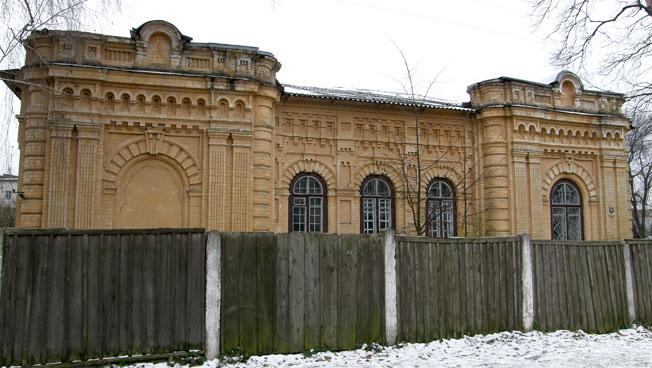 Іудейська архітектура а-ля Городецький