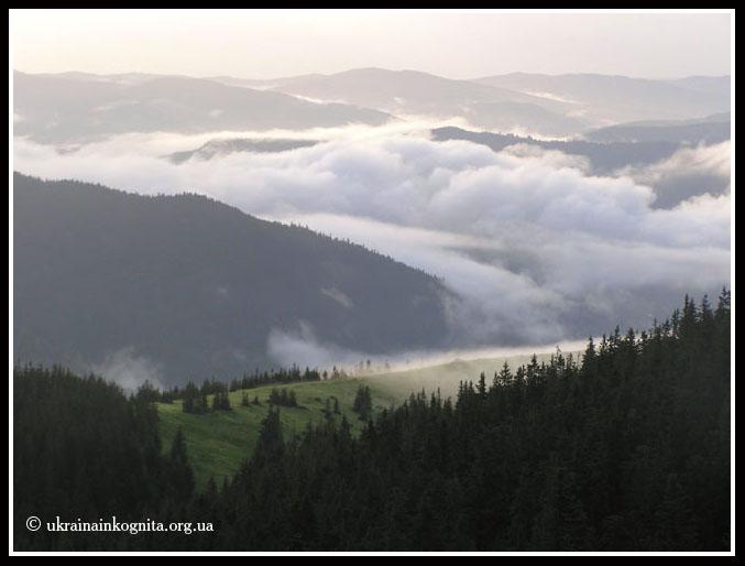 Хмари над Горганами
