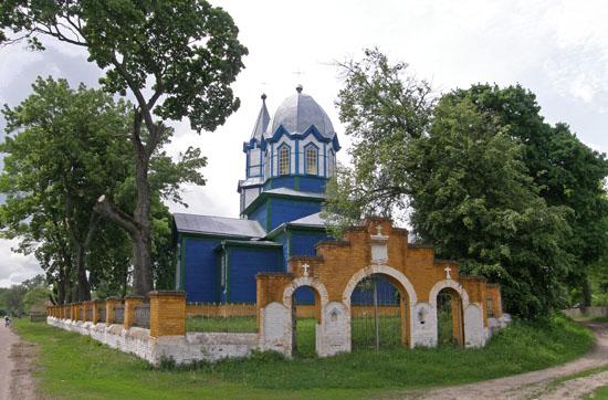 Дягова. Покровская церковь