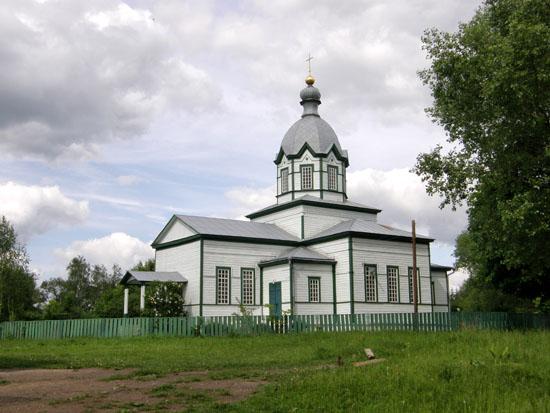 Городище. Михайловская церковь