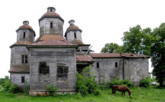 Городище. Николаевская церковь