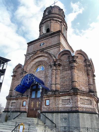 Ичня. Николаевская церковь-колокольня