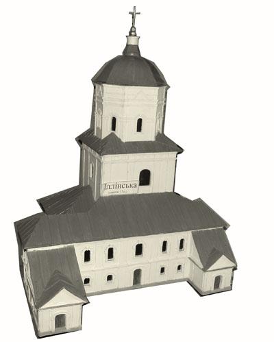 Короп. Ильинская церковь