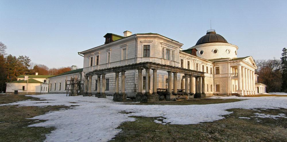 Качановка. Дворцово-парковый ансамбль