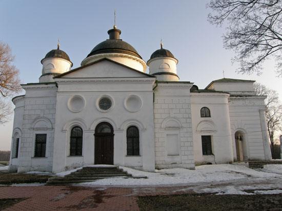 Качановка. Георгиевская церковь