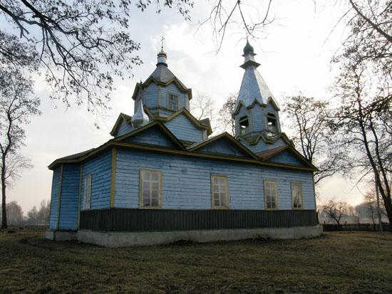Карасиновка. Церковь Рождества Богородицы