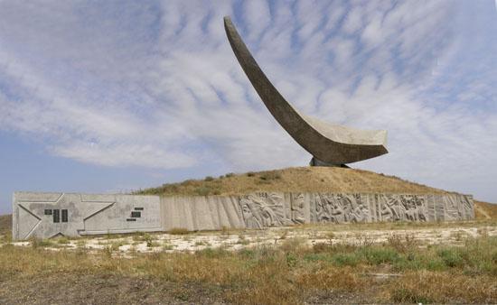 Меморіал на місці висадки Ельтигенського десанту