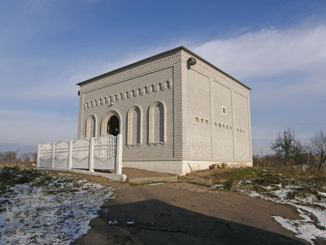 Мавзолей хасидського цадика Раві Іцхака