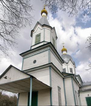 Кобыжча. Успенская церковь