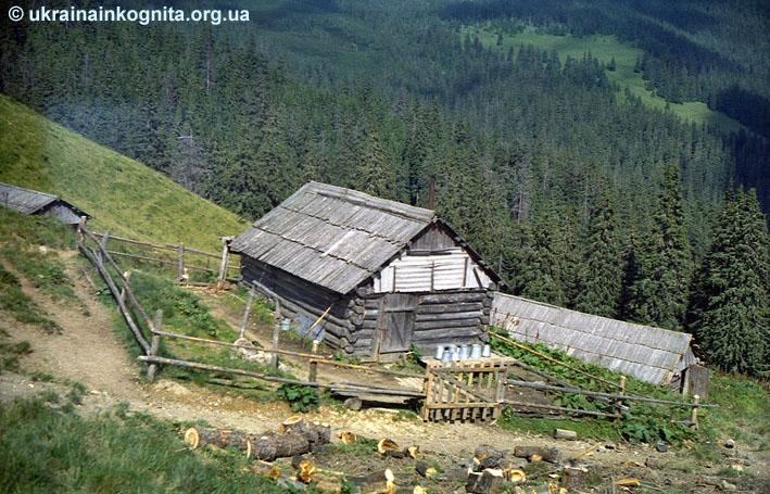 Колиба на Левковці