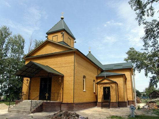 Моровск. Николаевская церковь