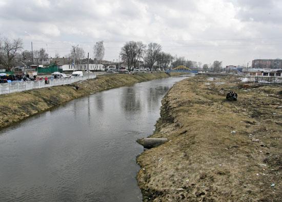 Нежин. Река Остер