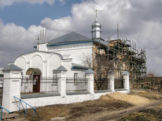 Нежин. Николаевская церковь