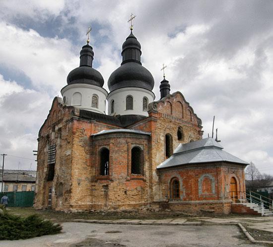 Нежин. Спасо-Преображенская церковь
