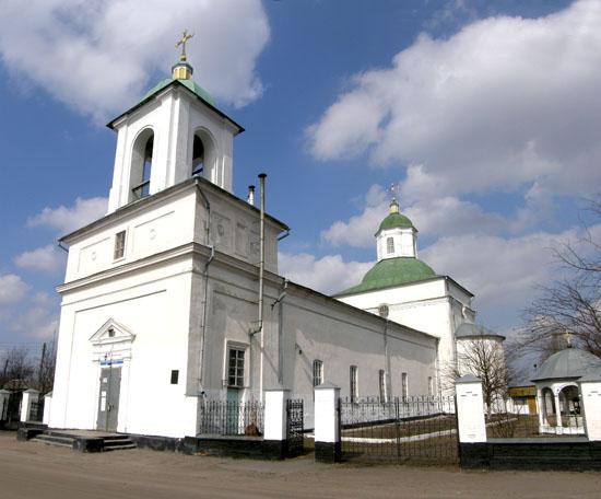 Нежин. Воздвиженская церковь